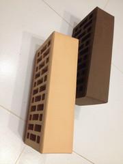 Кирпич керамический облицовочный и строительный полнотелый,  шамотный. - foto 1