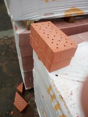 Кирпич керамический облицовочный и строительный полнотелый,  шамотный. - foto 3