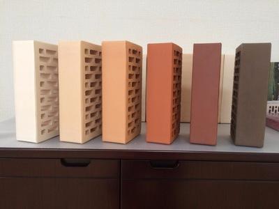 Кирпич керамический облицовочный и строительный полнотелый,  шамотный. - main