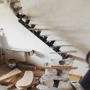 Металлокаркасы лестниц